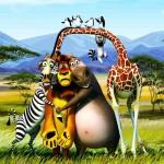 latest 3D animal desktop wallpaper 2013