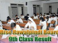 BISE Rawalpindi Board 9th Result 2018