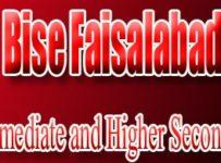Bise Faisalabad FA-FSC Annual 11th Class result 2018