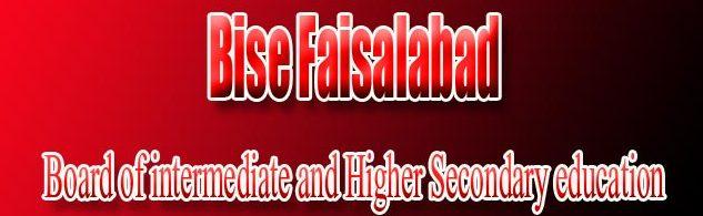 Bise Faisalabad FA-FSC Annual 11th Class result 2020