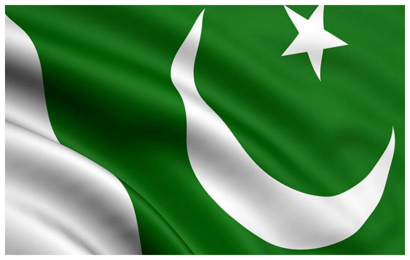 Pakistan Flag Free Vector Art