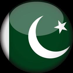 Pakistani Flag Round PIcs